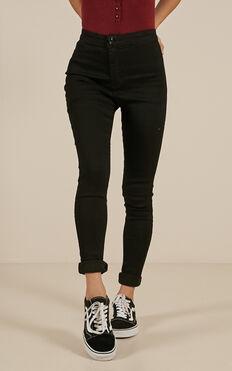 Madeline Jeans In Black