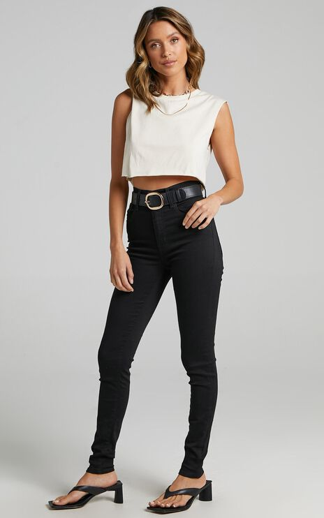 Levis - Mile High Ankle Skinny Jean in New Moon