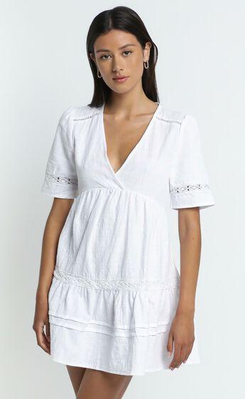Hampton Dress in White