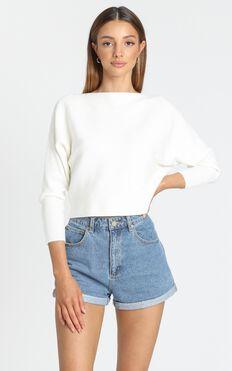 Crissy Jumper in White