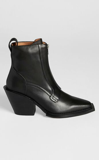 Alias Mae - Jordan Boots in Black Burnished
