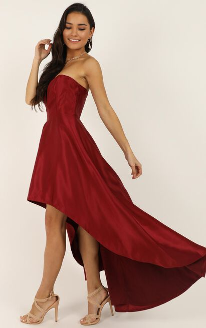 Dancing With Our Hands Tied Dress in wine - 20 (XXXXL), Wine, hi-res image number null