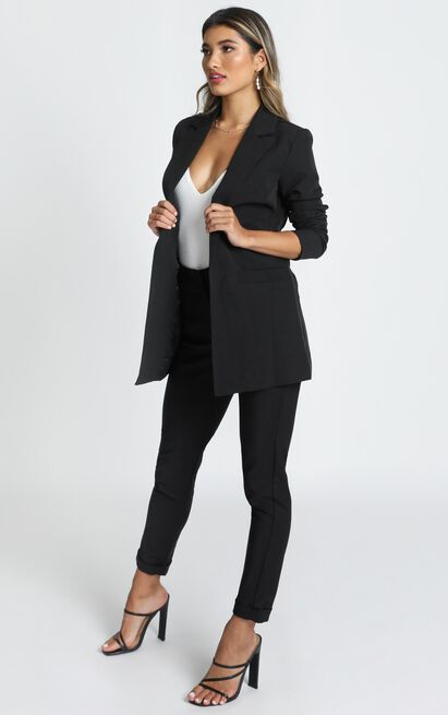 Inquisitive lady Blazer in  black - 20 (XXXXL), Black, hi-res image number null