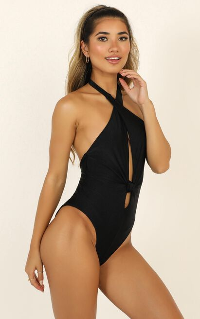 Lioness - Kendall One Piece In Black - 12 (L), Black, hi-res image number null