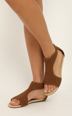 Therapy - La Boca Sandals In Tan Micro