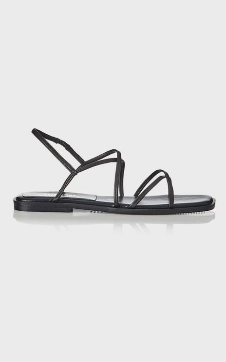 Alias Mae - Tulin Sandals in Black Leather