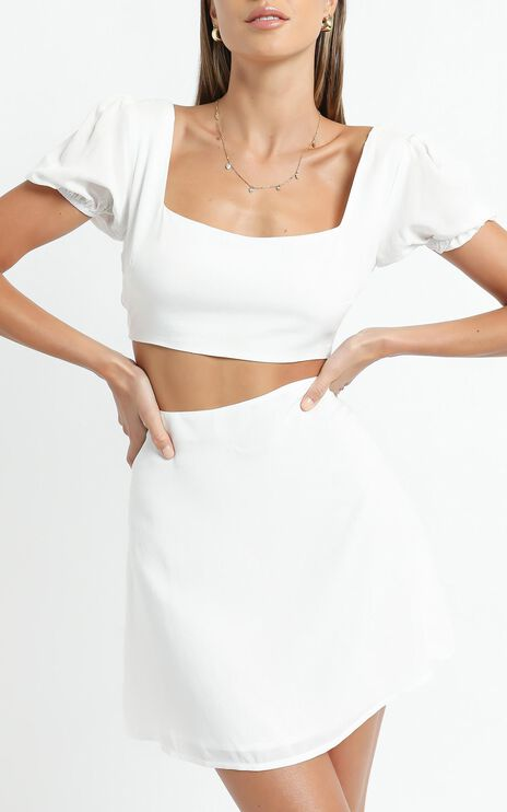 Artemis Two Piece Set in White