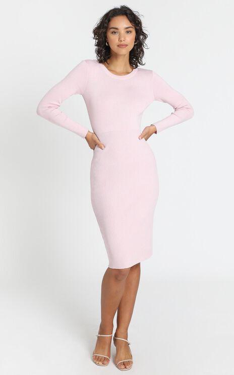Irina Dress in Baby Pink