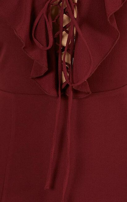 Think Quick Dress in wine - 12 (L), Wine, hi-res image number null