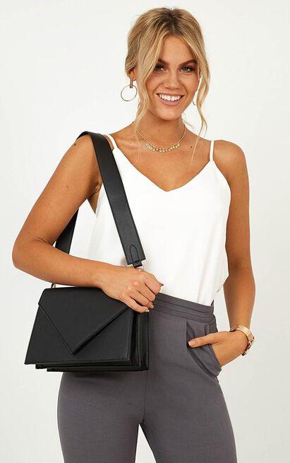 Going Somewhere Bag In Black, Black, hi-res image number null