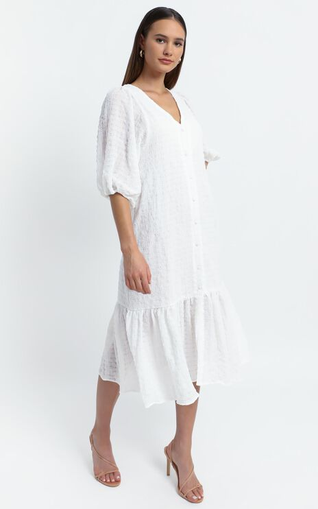 Bohemia Dress in White