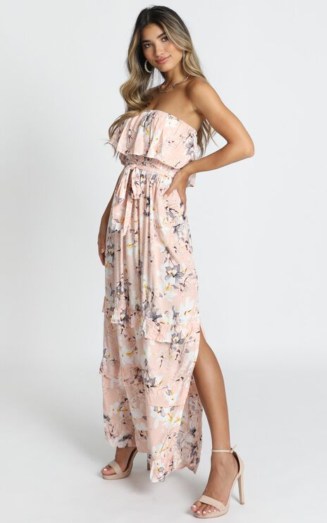 Ryley Dress In Pink Floral