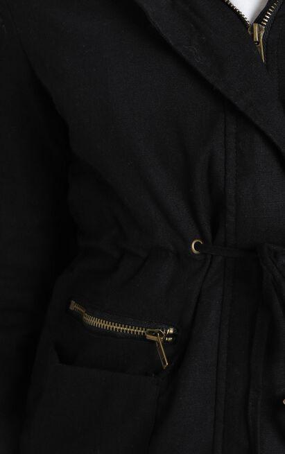 London parka in black - 4 (XXS), Black, hi-res image number null