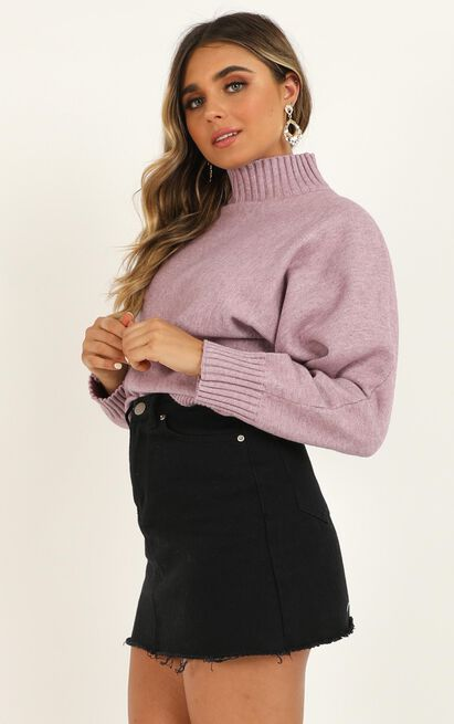 More Than Ever before Knit in lilac marle - 20 (XXXXL), Mauve, hi-res image number null