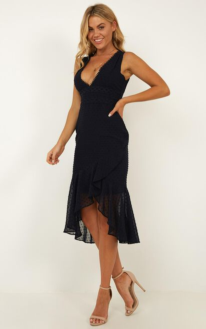 Miracle dreams dress in navy - 12 (L), Navy, hi-res image number null