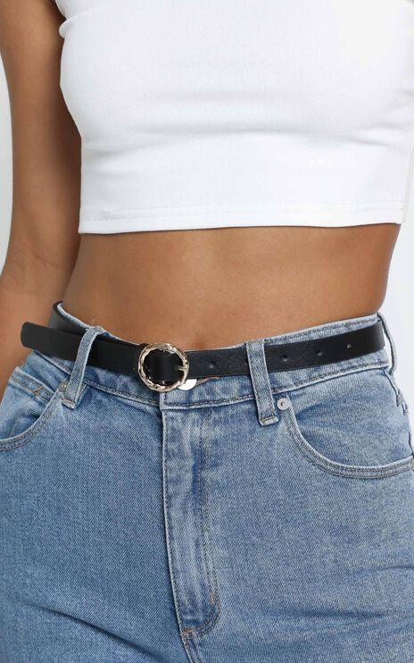 Delaney Belt in Black