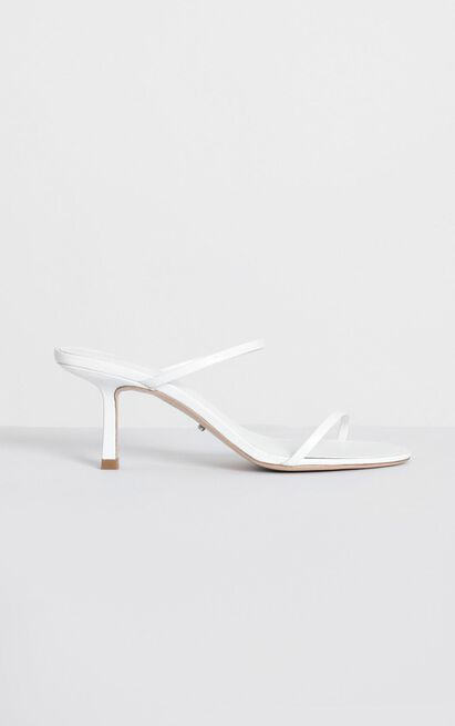 Tony Bianco - Camille Heels in white kid - 9, White, hi-res image number null