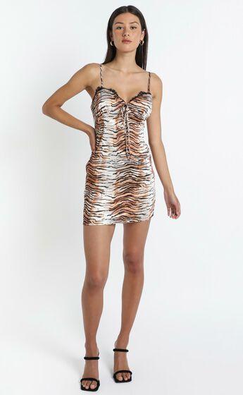 Lioness - Lexington Mini Dress in Tiger