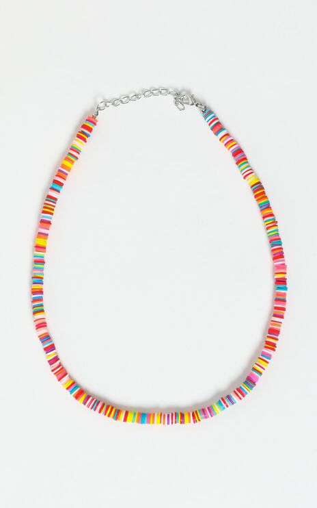 Beaded Necklace in Multi