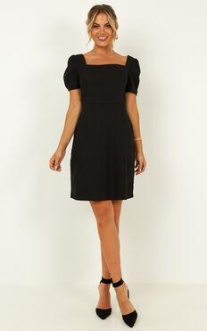 Meeting Point Dress In Black