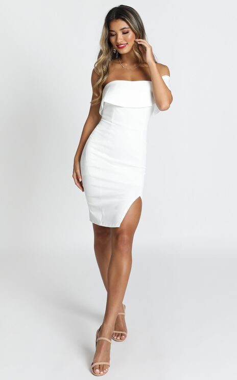 Seven Seas Dress in White
