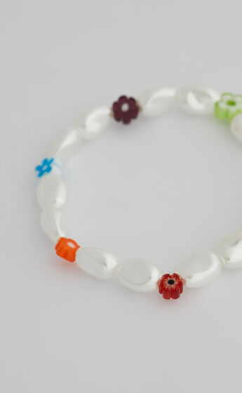 alaia bracelet in Pearl Floral