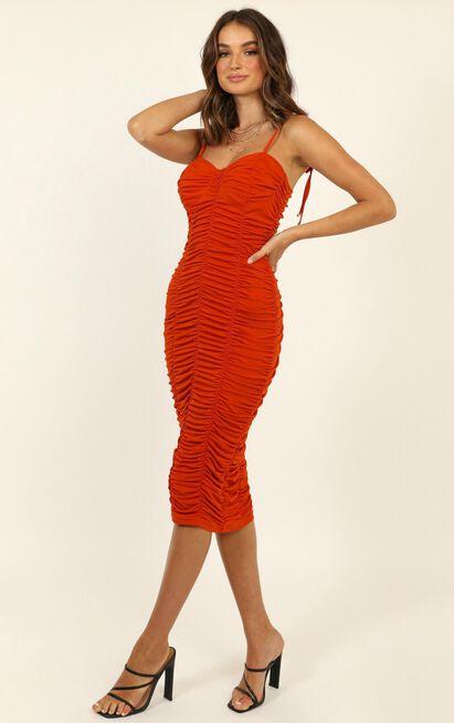 Love Me Now Dress in rust - 20 (XXXXL), Rust, hi-res image number null
