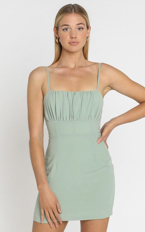 Reece Dress in Sage
