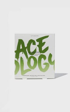 Aceology - Green T. Infused Gel Face Mask (4 Pack)