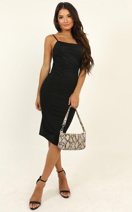 I Feel The Love Dress In Black
