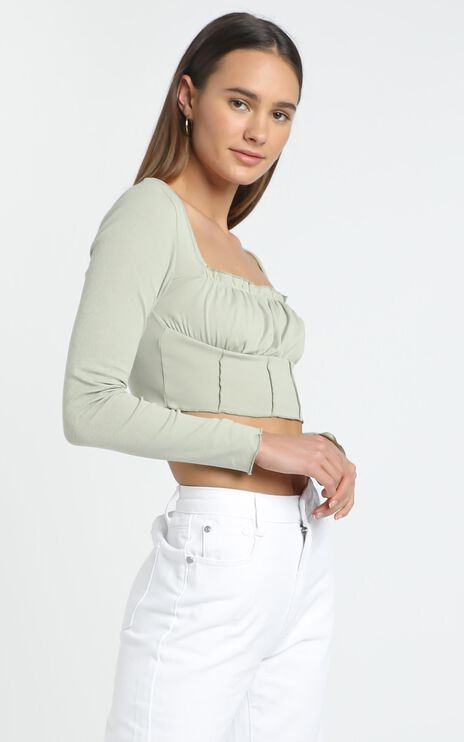 Antonio Top in Light Khaki
