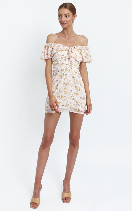 Allona Dress in Blush Floral