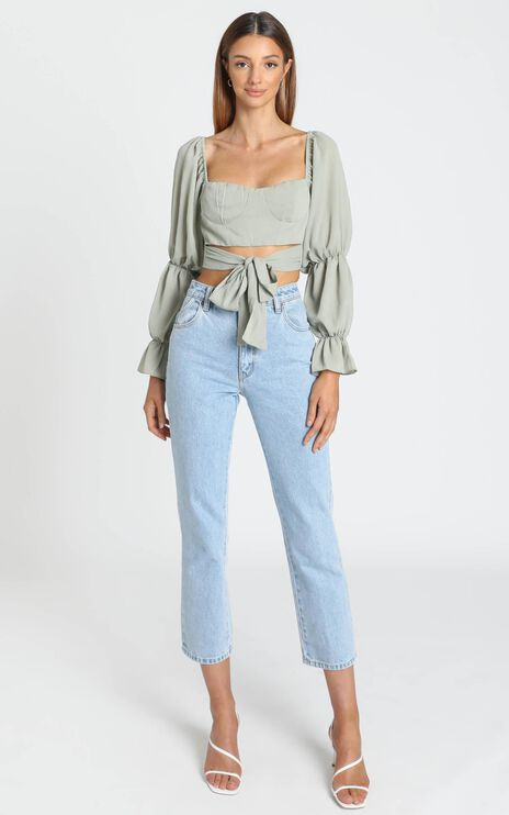 Reagan Top in Sage