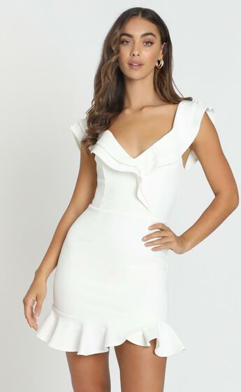Alessandra Dress in White