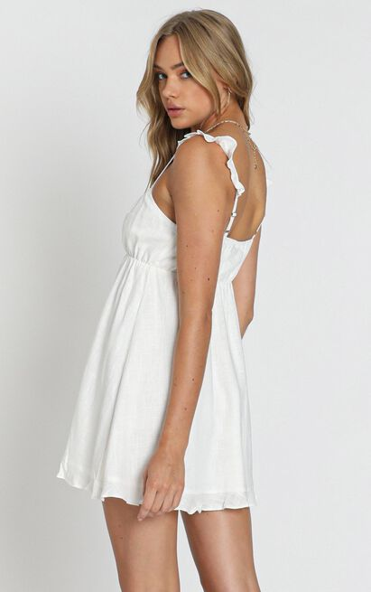Wild Beauty Dress in white - 20 (XXXXL), White, hi-res image number null