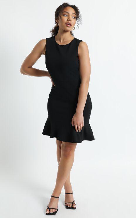 Obey Me Dress in Black
