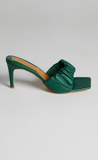 Jaggar The Label - Scrunched Heel in Foliage Green