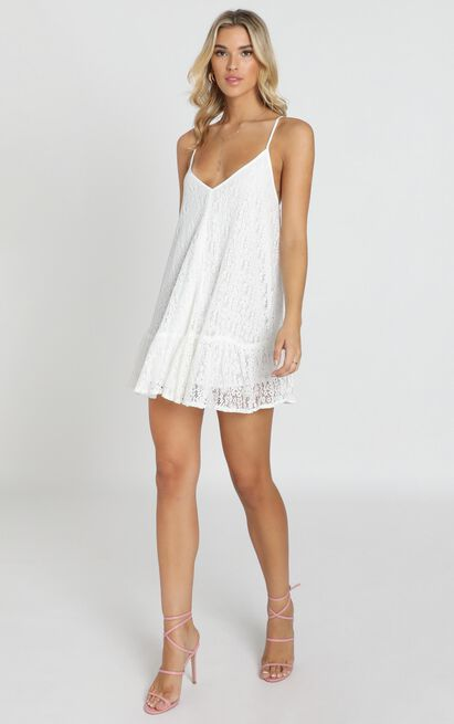 Why Dont You Dress in white lace - 20 (XXXXL), White, hi-res image number null