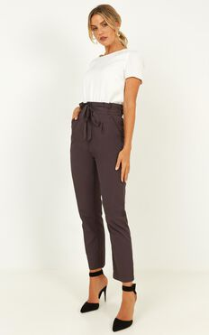 Management Pants In Grey