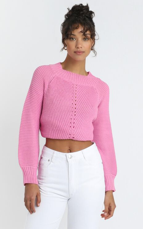 Keris Jumper in Pink