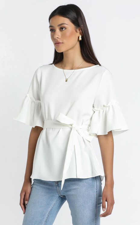 Kellie Top in White