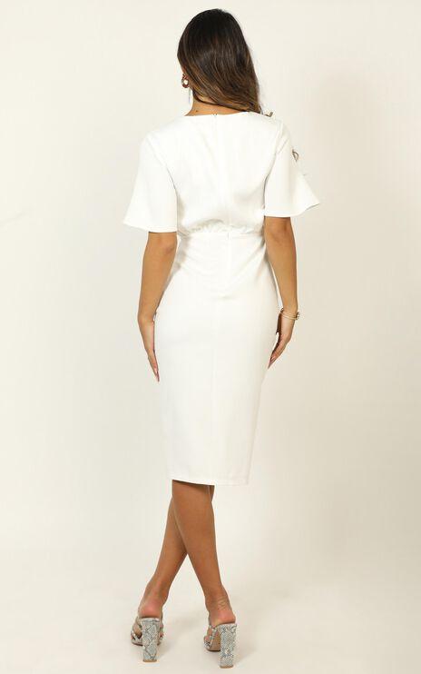 Listings Dress In Cream