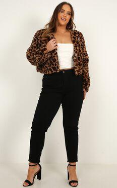 The Fury Jacket In Leopard