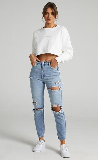 Abrand - A 94 High Slim Jean in Billie Rip
