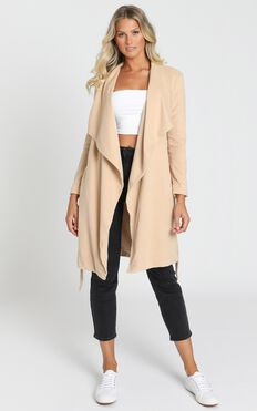 Feeling Lucky Coat In Camel