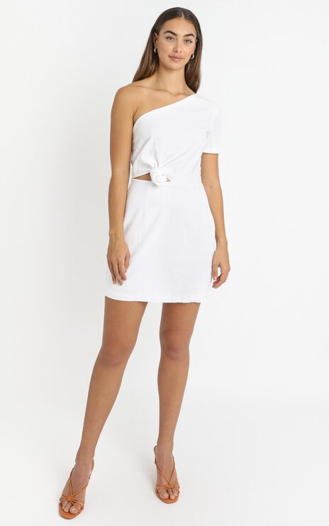Ruby Dawn Dress in White