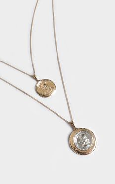Lucky Charm Necklace In Gold