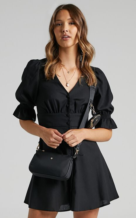 Tayla Dress in Black