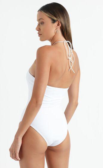 Konya Bodysuit in White