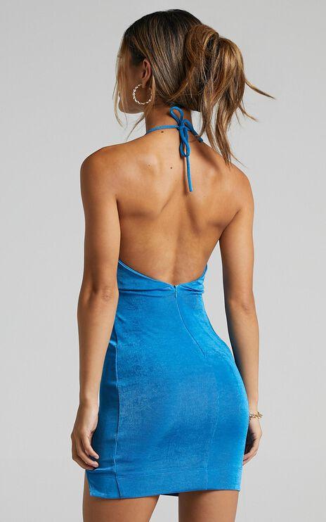 Jessy Dress in Blue